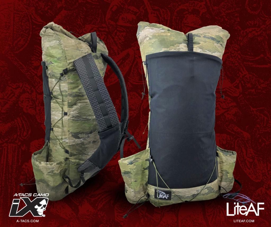 New Ultralight Packs in A-TACS Camo from LITE AF